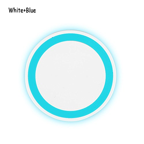 Phoneix Wireless Power Charger Quick Charging Pad For Samsung S8 Plus S8 S7 Edge S6 White Blue