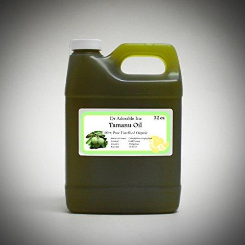 Tamanu / Foraha Organic Oil Pure Cold Pressed 32 Oz/ 1 Quart