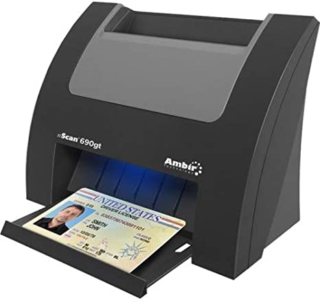 Brand New Duplex Medical Insurance Card and ID Card Scanner w// Scan-ID LITE