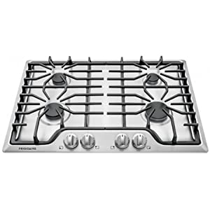 "Frigidaire FFGC3026SS 30"" Gas Sealed Burner Style Cooktop with 4 Burners, ADA Compliant in Stainless Steel"