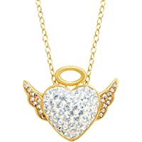 Crystaluxe Angel Pendant with Swarovski Crystals