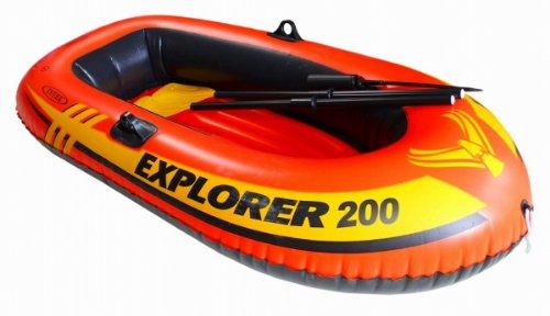 Intex Explorer 200 Boat Set