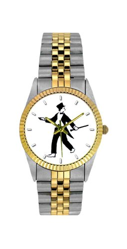 Music Treasures Rolex Like Tap Dance Watch by Music Treasures Co.