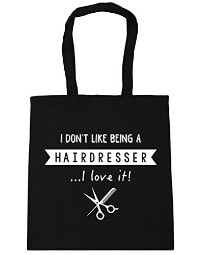 Tote HippoWarehouse 10 Gym 42cm x38cm Love A Hairdresser litres Being Like Beach Shopping Black I Don't It I Bag rxq1arz