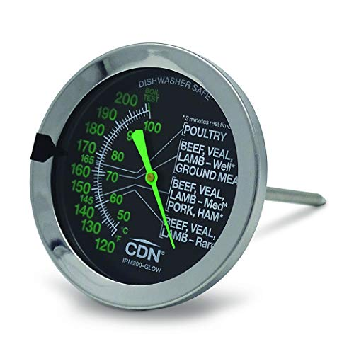 CDN IRM200-GlOW ProAccurate Oven Thermometer (Safe Oven)