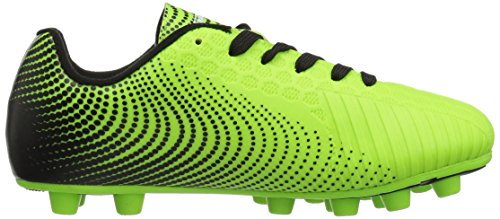 Vizari Unisex Stealth FG Green/Black Size 2 Soccer Shoe M US Little Kid by Vizari (Image #7)