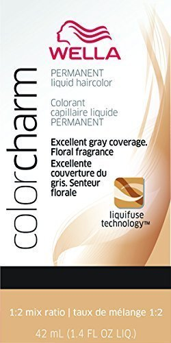 Color Liquid Charm (Medium Ash Brown Color Charm Liquid Permanent Hair Color)
