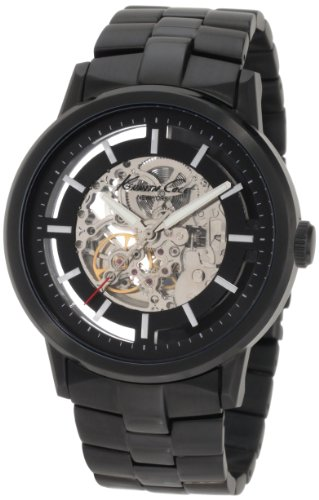 (Kenneth Cole New York Men's KC3981 Chronograph Silver and Black Dial Watch)