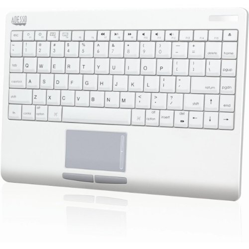 Adesso SlimTouch Mini Bluetooth Keyboard for Mac with Touchpad (WKB-4000BM)