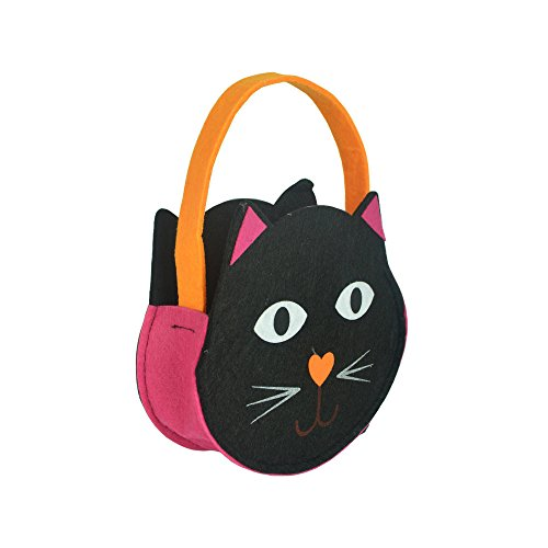 ASeir Halloween Children Smile Bag Kids Candy Cat Print Bag (Original Spelling Of Halloween)