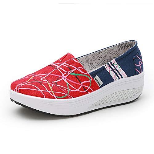 37 Per Scarpe Rosso Zhrui Dimensione Da Eu Donna colore Rosso tFqwn6q8