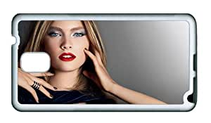 Sale Samsung N9000 cover water proof Fashion style make up girl TPU White for Samsung Note 3/Samsung N9000