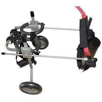 Silla de ruedas para perros - Talla M para altura de 40-51cm: Amazon.es: Productos para mascotas