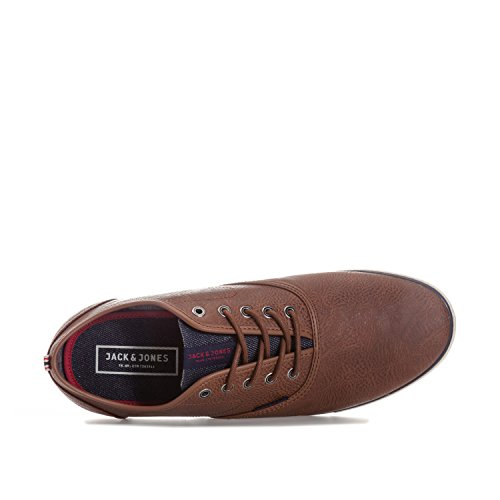 Jack & Jones, Sneaker uomo Marrone cognac brown