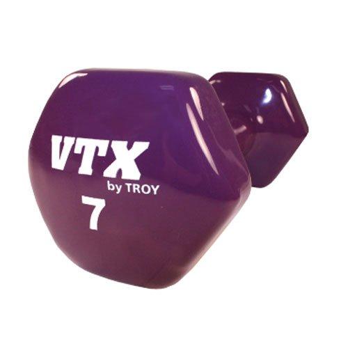 Troy Barbell VTX Premium Vinyl Dumbbell Single