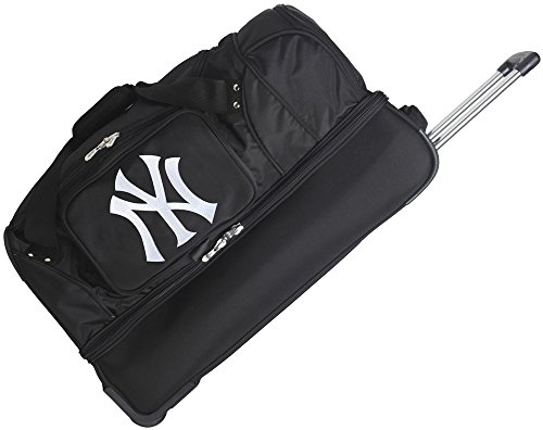 MLB New York Yankees Rolling Drop-Bottom Duffel by Denco