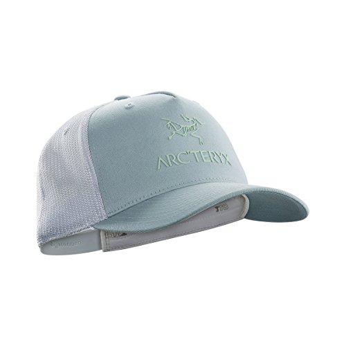 Arc'teryx Logo Trucker Hat - Petrikor/Dew Drop from Arc'teryx