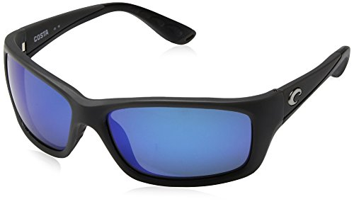 Costa Del Mar Jose Sunglasses, Matte Gray, Blue Mirror 580 Glass - Costa Mar Del 580 Jose