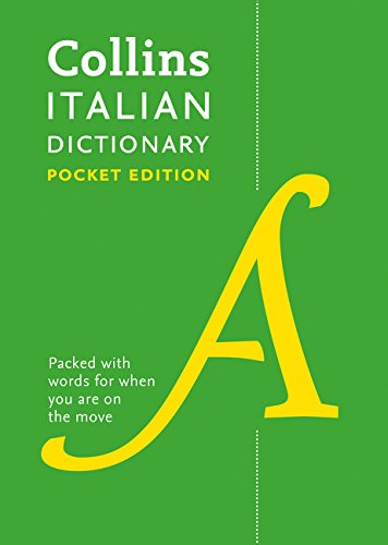 Collins Italian Dictionary: Pocket Edition (English and Italian Edition)