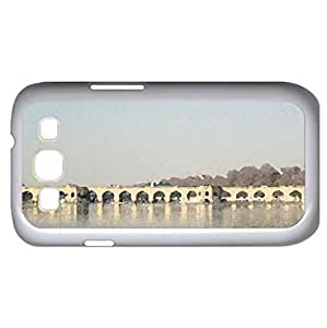 Pol e Marnan (Bridges Series) Watercolor style - Case Cover For Samsung Galaxy S3 i9300 (White)