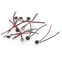 10pcs 6mm x 3.5mm Mini Electret Microphone Condenser Pickup w Lead