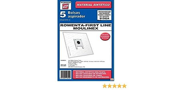 Ersa 915624 - Bolsa aspirador sintetica 915624 5un.: Amazon.es ...