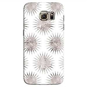 Cover It Up - Silver White Star Galaxy S7 Hard Case