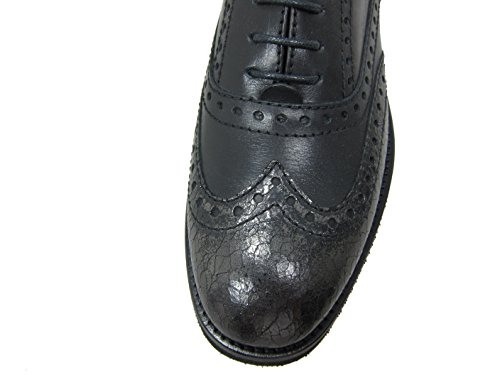 Classique Chaussures Schwarz À Femme Lacets Coupe Tine's Et w6aUxq1RnF