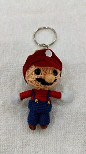 Mario :Super Brothers Voodoo String Doll Keyring Keychain
