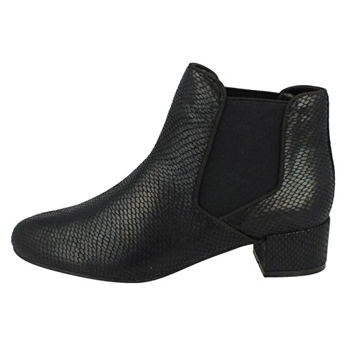 EU Black Size UK Michelle 9 Size Anne Snake Ankle Ladies Boots US 7 40 Print Size IvnpUqwn
