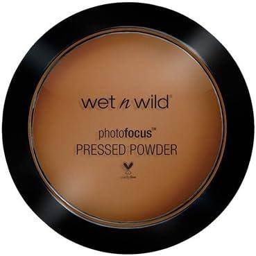 WET N WILD Photo Focus Pressed Powder - Dark Cafe (6 Pack): Amazon.es: Belleza