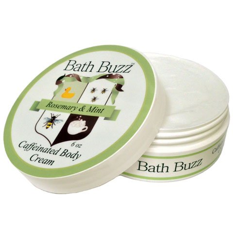 Bath Buzz Rosemary Mint Caffeinated Body Cream