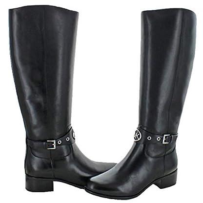 Michael Michael Kors Womens Heather Leather Almond Toe Knee High Fashion Boots 3