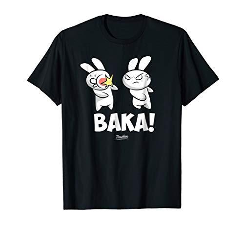Funny Anime Baka Rabbit Baka Japanese Anime Lover Shirt