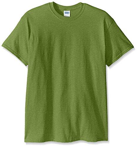 Gildan Men's Ultra Cotton Tee, Kiwi, (Kiwi Cotton Shorts)