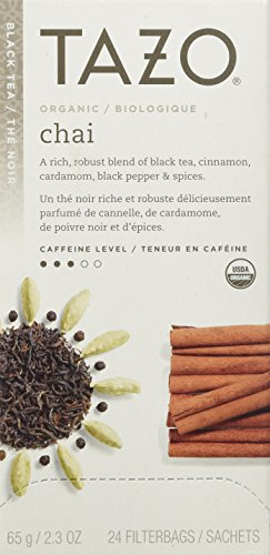 Tazo Organic Chai, 24 Tea Bags 2.3oz (Tazo Chai Tea)
