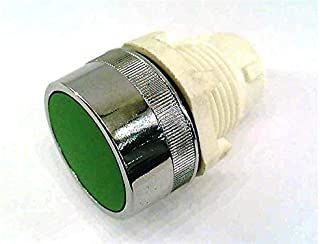 product image for CLIPPARD PS-P2F-G Actuator 22MM Flush PUSHBUTTON Manual Green