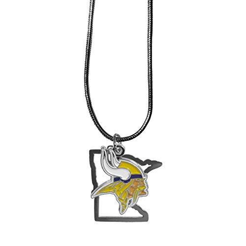 (Siskiyou NFL Minnesota Vikings State Charm Necklace, 18