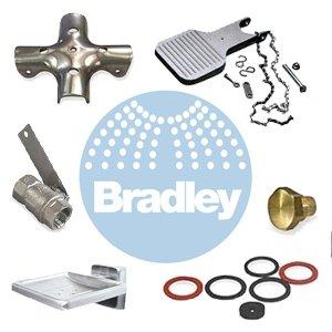 Bradley Foot Lever Hardware Prepack-Circle Part # S45-003 by Bradley
