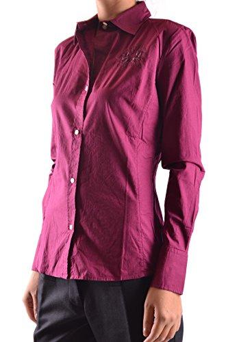 La Martina Camicia Donna MCBI178002O Cotone Fucsia