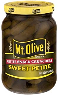 product image for Mt. Olive Petite Snack Crunchers, Sweet Petite 16 Oz (Pack of 2)