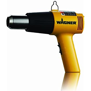 Wagner 0503008 HT1000 Heat Gun 1,200-Watt, 2 Temp Settings 750ᵒF & 1000ᵒF