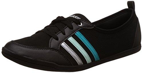 adidas Piona W, Zapatillas de Deporte Para Mujer Negro (Negbas / Verimp / Plamat)