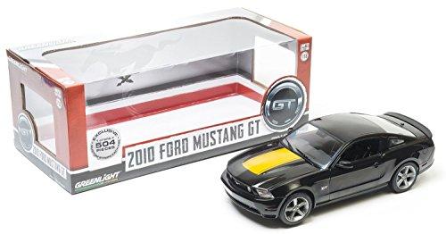 1/18 Ford - 2010 Ford Mustang GT (ブラック×イエロー) 12869-B