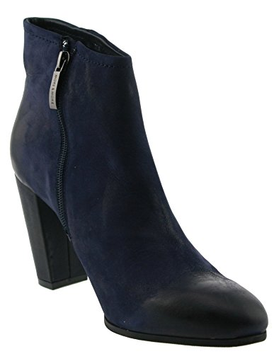 More and More Ilena-01 Stiefeletten Leder abyss Abyss