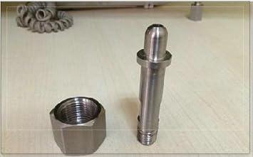 Lavatorio accesorios de acero inoxidable oxígeno Cilindro de ...