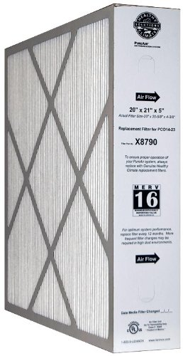 Price comparison product image 20x21x5 (20x20.63x4.38) MERV 16 Lennox OEM PCO14-23 High Capacity Replacement Filter