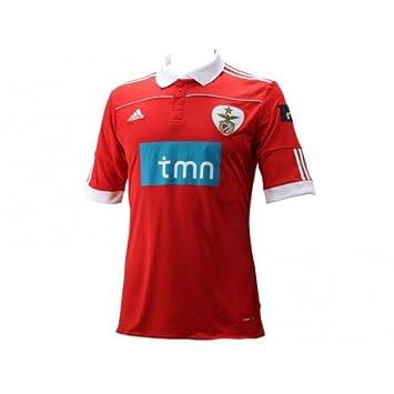 Adidas H JSY SLB-Camiseta de fútbol para Hombre, diseño del Benfica de Lisboa, Color Rojo - Rojo, tamaño S: Amazon.es: Deportes y aire libre