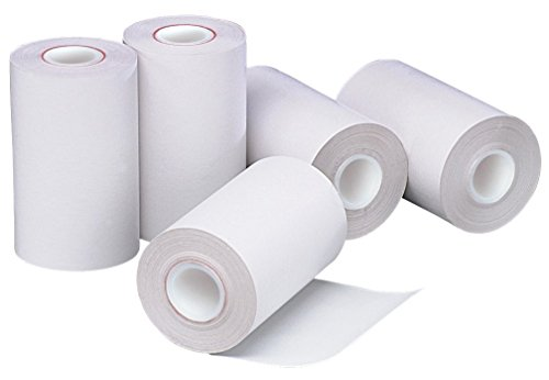 PM Company Portable Thermal Printer Rolls, 2.25''x55', White, 50-Pack (05260) by PM Company