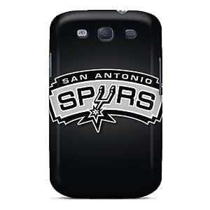 Scratch Resistant Hard Phone Case For Samsung Galaxy S3 With Custom Vivid San Antonio Spurs Image Marycase88
